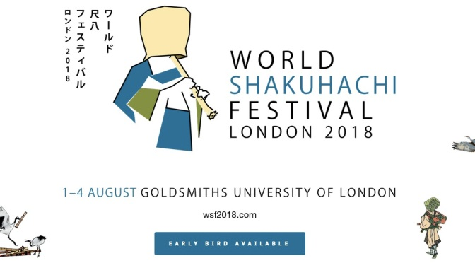 World Shakuhachi Festival 2018 London