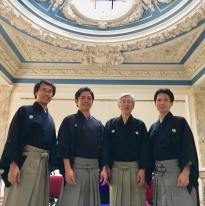 Kawamura Kizan_photo of Seki quartet